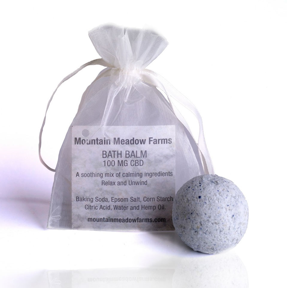 Mountain Meadow Farms Extra Strength Bath Bomb 100mg CBD