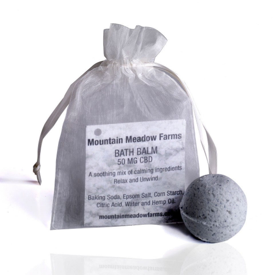 Mountain Meadow Farms Regular Strength Bath Bomb 50mg CBD